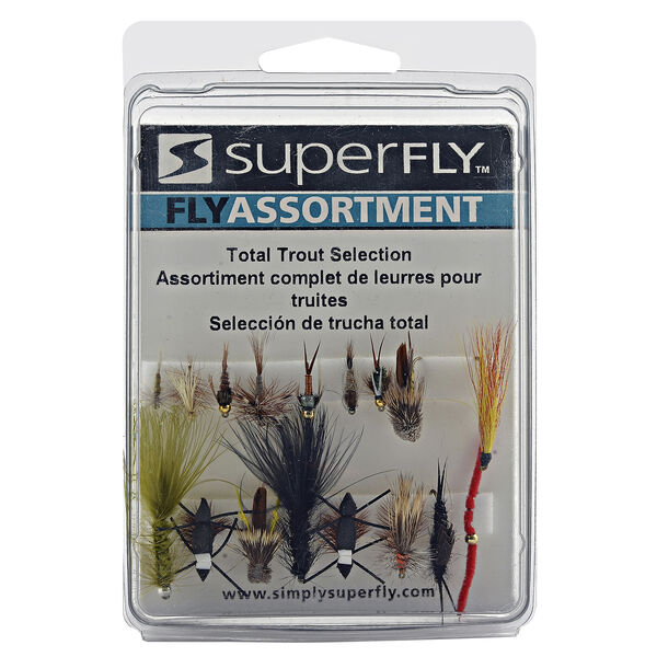 Superfly Fly Fishing Total Trout Assortment
