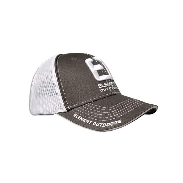 Element Outdoors Drive Series White/Grey Mesh Back Cap
