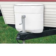 RV Tank Cover - White, Fits Double 30 / 7.5 gallon