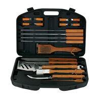 18-Piece BBQ Tool Set