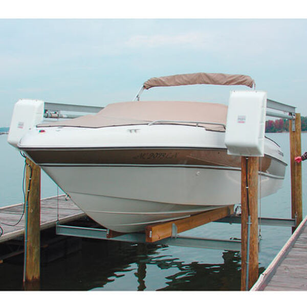 Doozie Twin Drive Open Boat Lift, 12,000-lb. Capacity