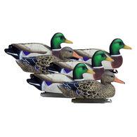 Higdon Standard Mallard Duck Decoy, 6-Pack