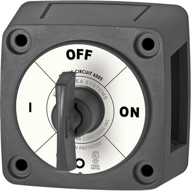 Blue Sea Systems m-Series Mini On/Off Battery Switch (with Key)