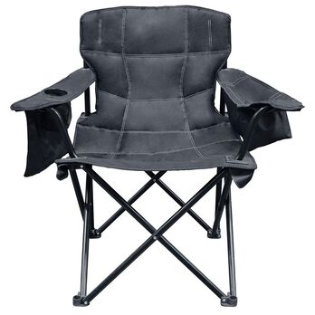 Elite Quad Chair, Solid Black