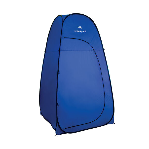 Stansport Pop-Up Privacy Shelter, Blue