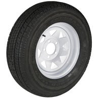 Goodyear Endurance ST205/75 R 14 Radial Trailer Tire, 5-Lug White Spoke Rim