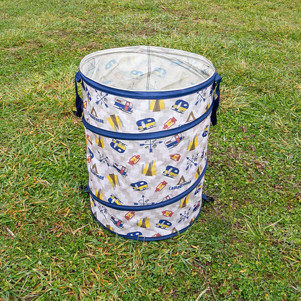 RV Campground Collapsible Container