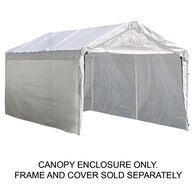 "10X20 Canopy Enclosure Kit, For 2"" Frame"