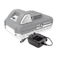 Snow Joe + Sun Joe 24V-2AMP-SK1 24-Volt iON+ Starter Kit