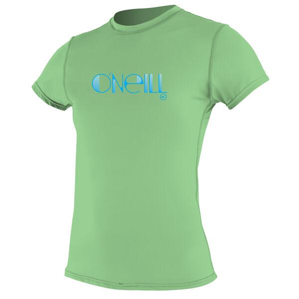 O'Neill Women's Skins Short-Sleeve Rash Tee