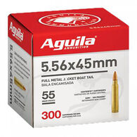 Aguila FMJ Boat Tail Ammo, 5.56x45mm
