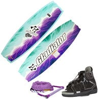 Gladiator Bliss w/ Clutch Bindings and EVA Wakeboard Handle With Mainline