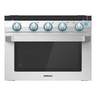 """Furrion 17"""" 2-in-1 Range Oven with Wired Grate, Stainless Steel"""