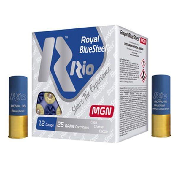 Rio Royal BlueSteel MGN 32 12-Gauge Shotgun Ammo, 3