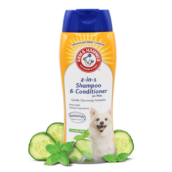 Arm & Hammer 2-in-1 Shampoo and Conditioner For Dogs, 20 oz.