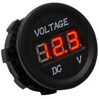 Race Sport DC Socket Digital Voltmeter, 5-30V DC