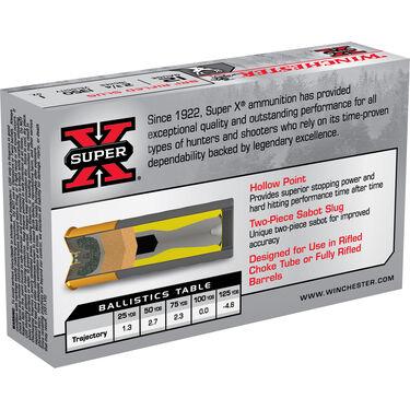 """Winchester Super-X BRI Sabot Slug Shotshells, 12-ga., 2-3/4"""", 1-oz."""