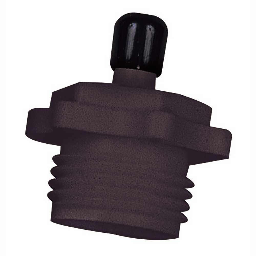 Camco 36133 Black Rv Plastic Blow Out Plug With Schrader Valve