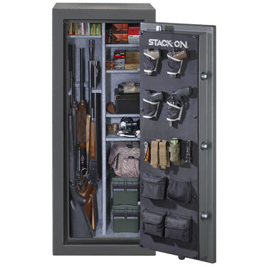 Stack-On Total Defense Electronic 24-Gun Safe