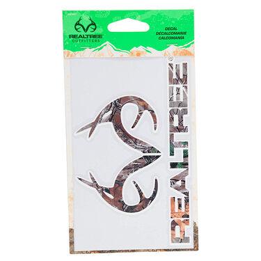 Realtree Logo Decal, Realtree Xtra Camo