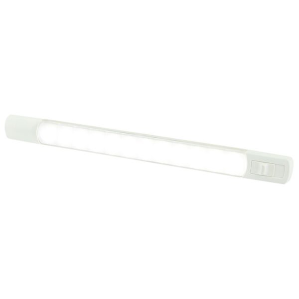Hella Marine LED Surface Strip Light With Single Switch, White