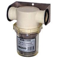 Groco WSB-750-P Saltwater Pump Strainer With Nonmetallic Basket