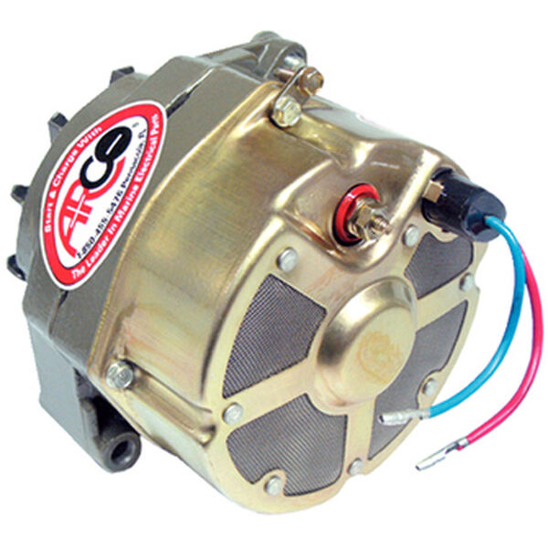 Arco Remanufactured Mercruiser / OMC Alternator, Two-Wire Connection