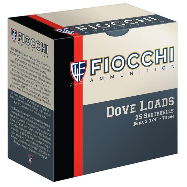 "Fiocchi Game & Target Load, 16-ga., 2-3/4"", 1 oz., #8"