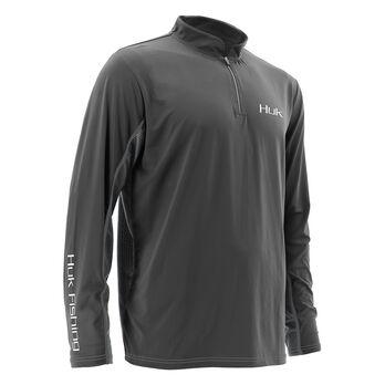 Huk Men's Icon Quarter-Zip Pullover
