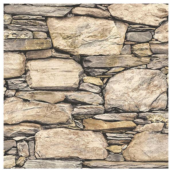 NuWallpaper Stone Wall Peel-and-Stick Wallpaper
