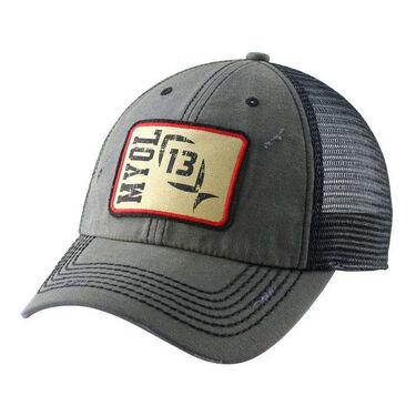 13 Fishing Guy On a Buffalo Hat