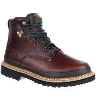 "Georgia Boot Men's Georgia Giant Leather 6"" Work Boot"