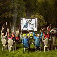 Backyard Theater Systems, 9ft