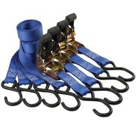 """1"""" x 10' Ratcheting Tie-down Straps, 4 pack"""