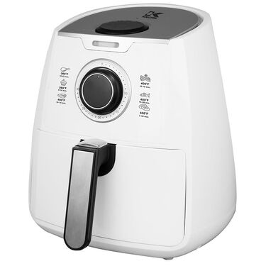 Kalorik Airfryer with Dual Layer Rack, White