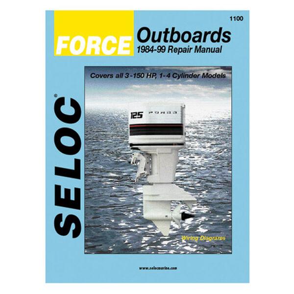 Seloc Marine Outboard Repair Manual for Force '84 - '99