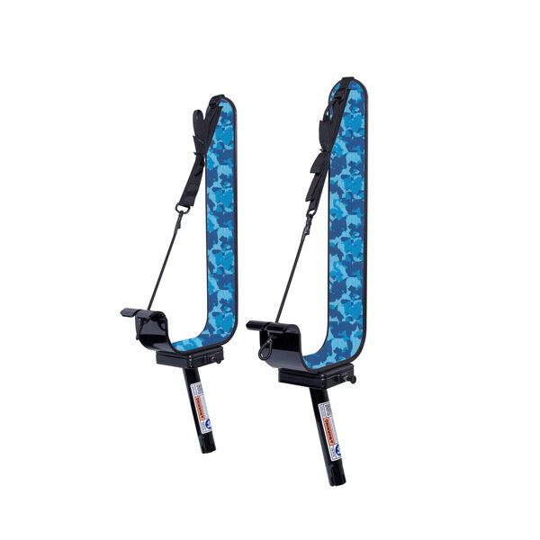 Manta Racks L2K Black Paddleboard/Kayak Rack For 1-15° & 1-30° Rod Holders