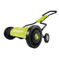 Sun Joe MJ1800M 18-Inch Quad-Wheel, 5-Position, Razor Sharp Cutting Blade, Silent Push Reel Mower