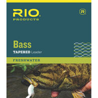 RIO Bass Leader, 9 ft., 3-Pack
