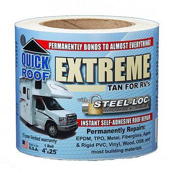 "Cofair Quick Roof Extreme 4"" x 25', Tan"