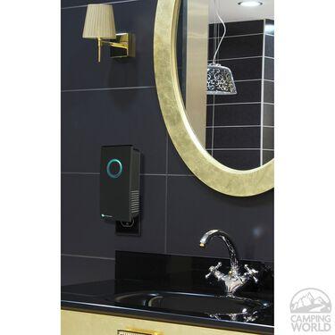 GermGuardian Elite Pluggable UV Sanitizer and Odor Reducer, Black Onyx