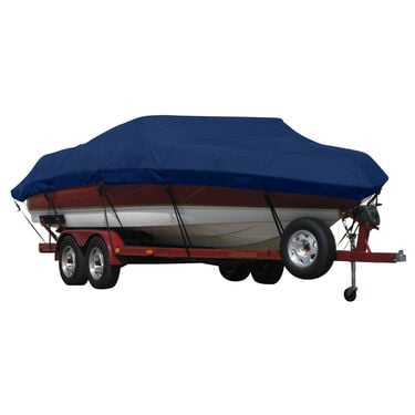 Exact Fit Sunbrella Boat Cover For Princecraft 221 Venturaw/Starboard Ladder
