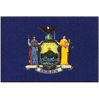 "New York State Flag, 12"" x 18"""