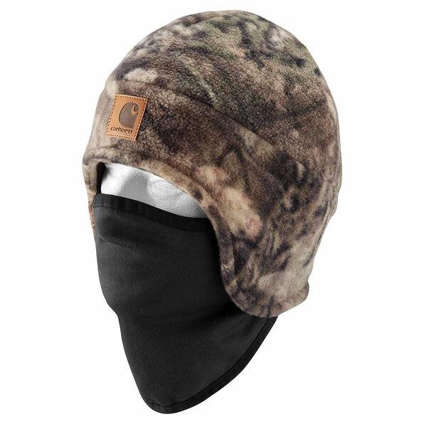 Carharrt Camo Fleece 2-in-1 Headwear
