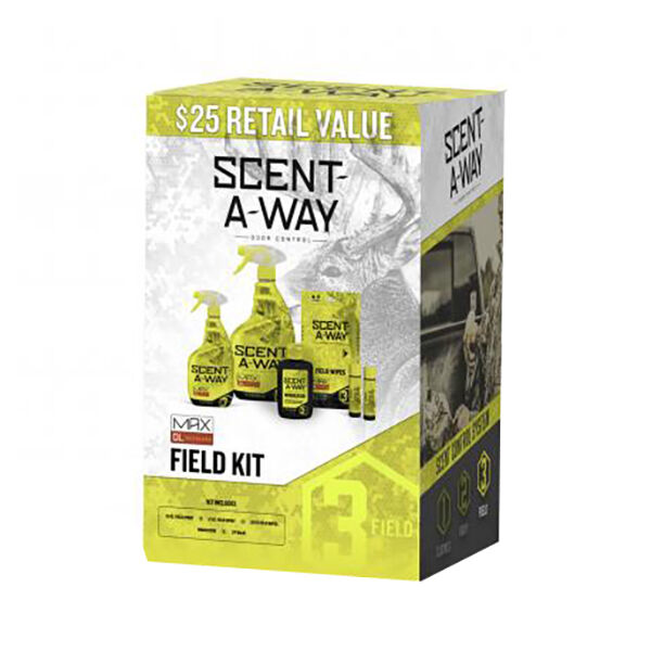 Scent-A-Way MAX Field Kit