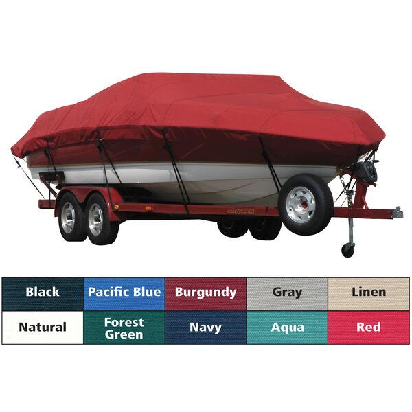 Sunbrella Boat Cover For Cobalt 25 Ls Deck Boat W/Arch And Bimini Cutouts