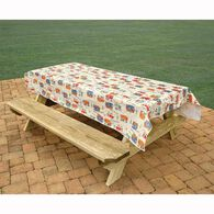 Camping Tablecloth, Camping Trails