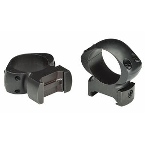 "Weaver Grand Slam Top Mount Windage-Adjustable Rings, 1"", Extra-High, Matte"
