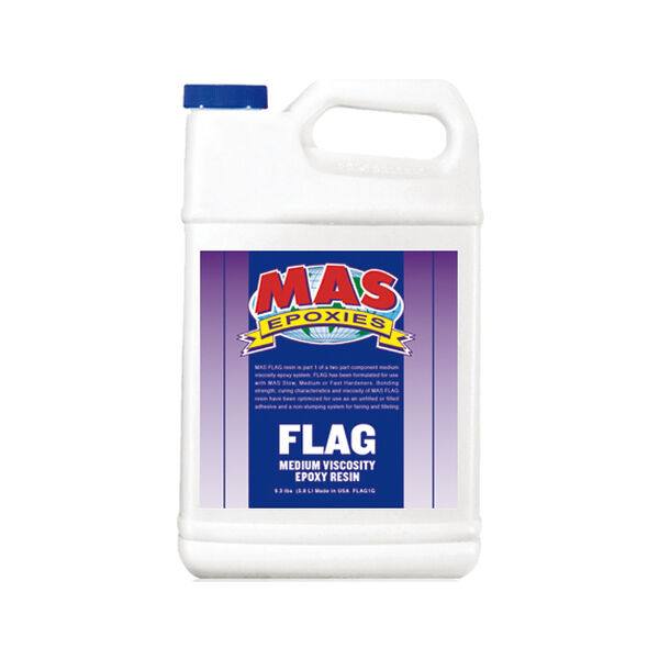 MAS Epoxies FLAG Resin, Half Gallon