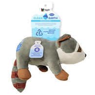 Spunky Pup Clean Earth Plush Raccoon Toy, Large